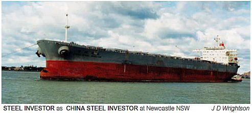 CHINA STEEL INVESTOR