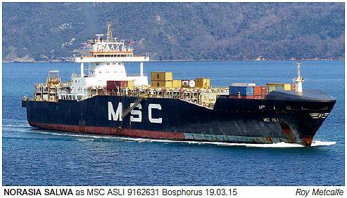 MSC ASLI