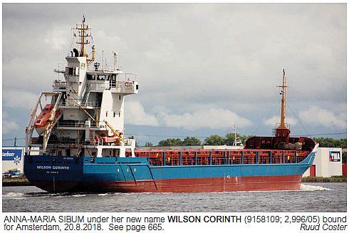 WILSON CORINTH